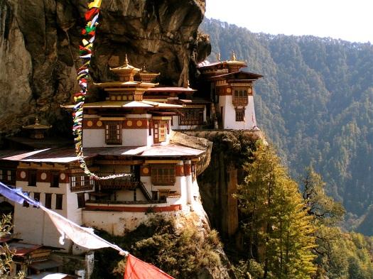 Taktsang in Bhutan